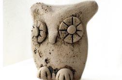 Ceramiczna leśna sowa 02