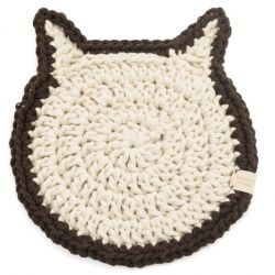 Podkładka pod talerz kot ecru i brąz