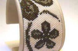 bransoletka - kwiaty