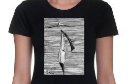 Kapelusz - damski t-shirt - różne kolory
