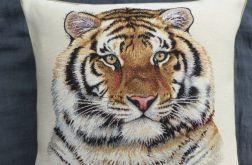 Poduszka gobelinowa - Tygrys