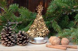 Choinka ażurowa #2 - dekoracje świąteczne