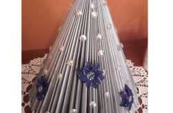 Choinka w srebrze- Boże Narodzenie