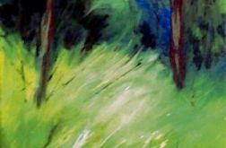 Leśny pejzaż