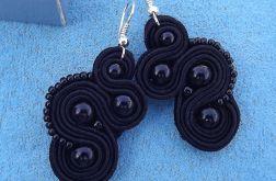 Małe czarne - kolczyki sutasz