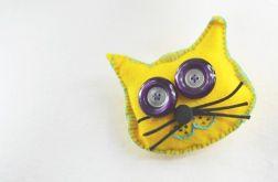 Fidelek - kot przypinka