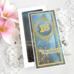 Kartka na 18 urodziny w pudełku 27