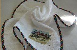 Ręcznik w morskim stylu-biały