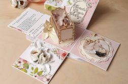 Pamiątka Chrztu dla dziewczynki-kartka box #1