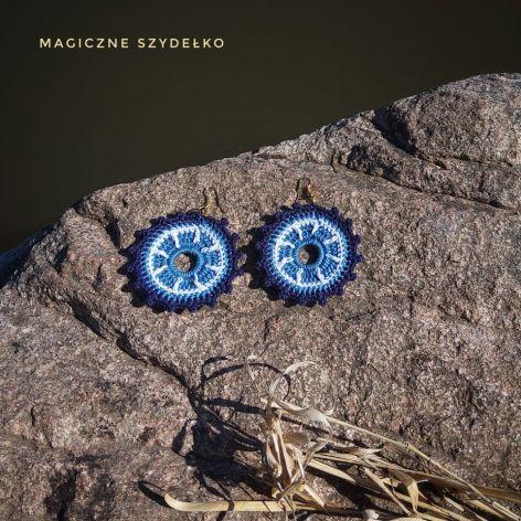 Okrągłe kolczyki MARINE
