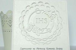 Zaproszenie na I Komunię Św. w bieli #2