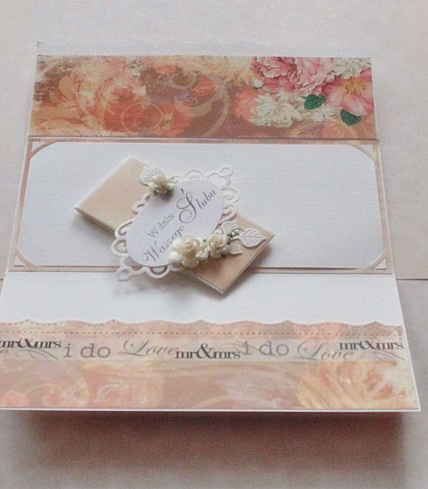 Kopertówka ślubna z opaską #3