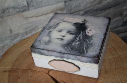 Pudełko pamiątka Komunii, Chrztu