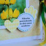 Kartka - Sikorka powiedziała że masz urodziny