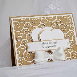 Ekologiczne zaproszenie ślubne