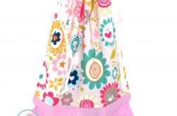 Worek przedszkolaka-kwiatuszki