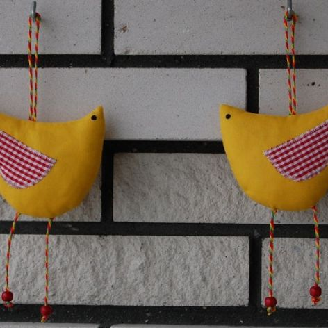 KURA - ptak - wielkanocna zawieszka