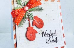 Kartki bożonarodzeniowe - zestaw 3 szt.