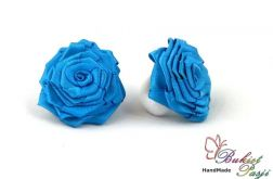 Gumki do włosów niebieskie