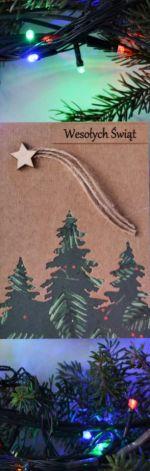 Kartka świąteczna - Boże Narodzenie - wzór 019