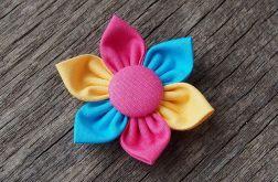 SUMMER FLOWERS Spinka do włosów kwiatek 4