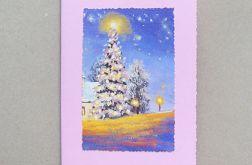 Kartka świąteczna - choinka 7