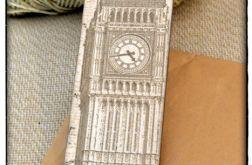 ~Od Ani~ Zakładka do książki ~Big Ben~ Anglia