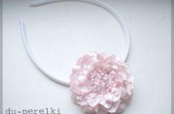 opaska różowa róża