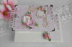 Album z magnoliami A5 w pudełku
