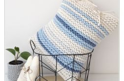 Poduszka Pasiak Blue