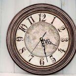 Zegar Ścienny z Aniołkiem