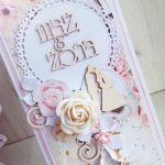 Kartka ślubna DL Marry Me z napisem GOTOWA -