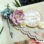 Kartka z okazji ślubu- letnie przebudzenie