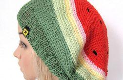 ARBUZ - bawełniany beret