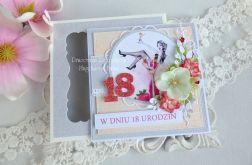 Kartka na 18 urodziny w pudełku 31