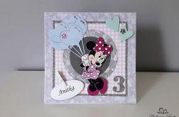 Personalizowana Kartka na urodziny Minnie