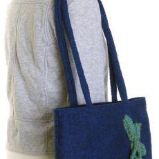 SWS TOREBKI Modna torebka damska z wiśniami