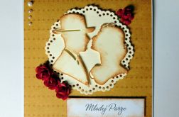 Kartka ślubna para 3