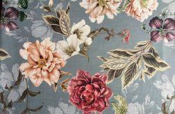 Tkanina dekoracyjna kwiaty