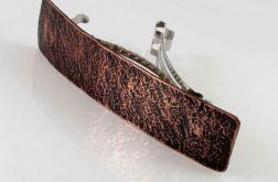 Kamień - miedziana klamra 200613-02