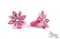 Gumka do włosów różowa dla dziewczynki