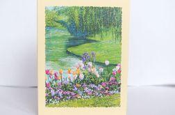 Kartka uniwersalna - wiosenny pejzaż 1