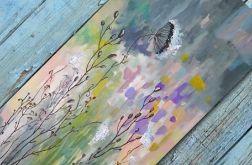 Jesienna łąka -obraz akrylowy 50/100 cm
