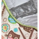 Kołderka dla malucha, patchwork - patchworkowa kołderka