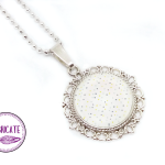 Medalion - kropeczki - Fabricate