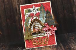 Wesołych Świąt - w stylu retro