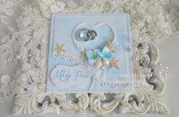 Ślubna kartka w pudełku 48