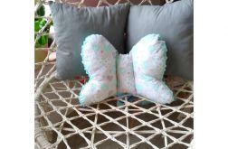 Poduszka motylek - serduszka