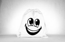 Smile Plecak o Worek Black
