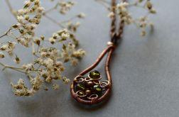 Kalinda - naszyjnik z kryształkami
